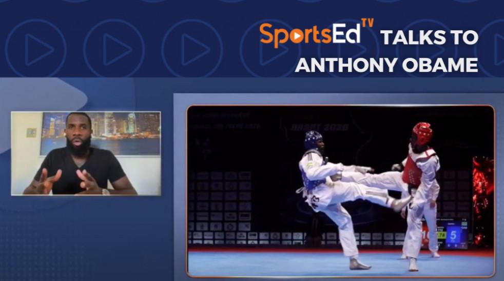Anthony Obame Interview on SportsEdTV Live