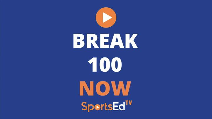Breaking 100 by Tom Sutter