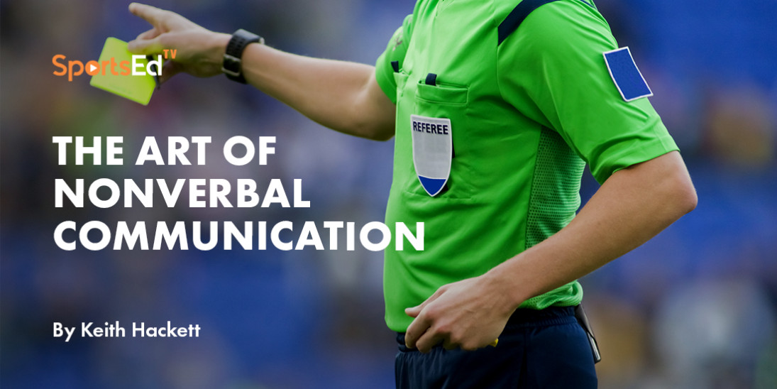 Control The Game With Body Language - Soccer Referee Guide