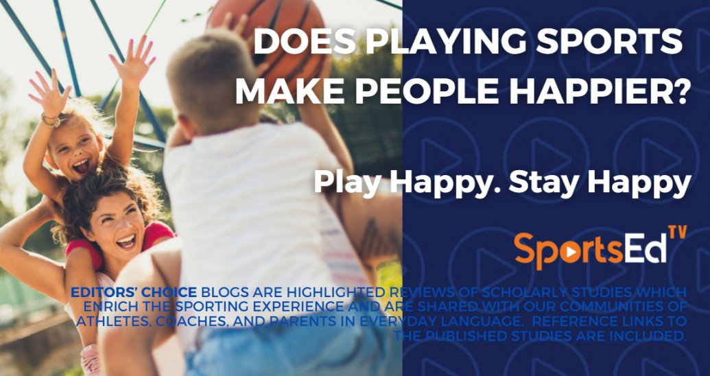 Does Playing Sports Make People Happier?