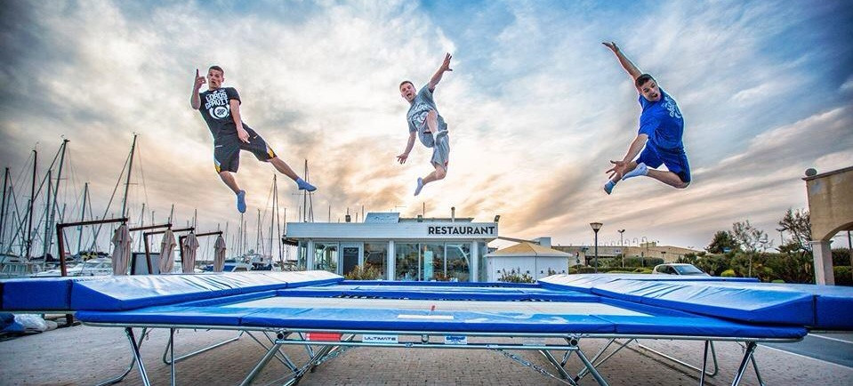 Freestyle Trampoline Pioneer Adds Body Control Techniques to SportsEdTV Instruction