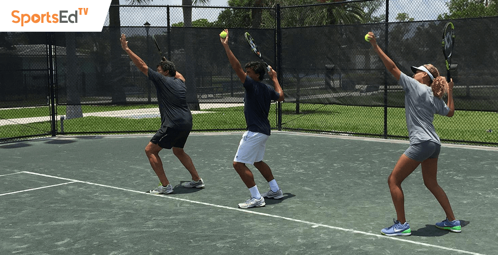 How Many Private Tennis Lessons Should a Junior Player Take a Week?