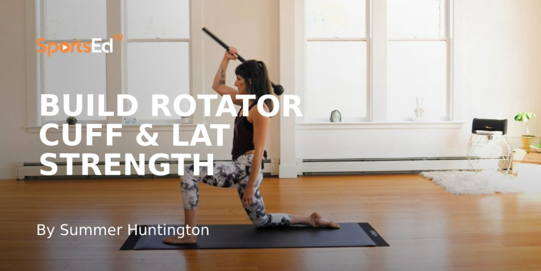 How to Build Rotator Cuff & Lat Strength with Slow Grinds