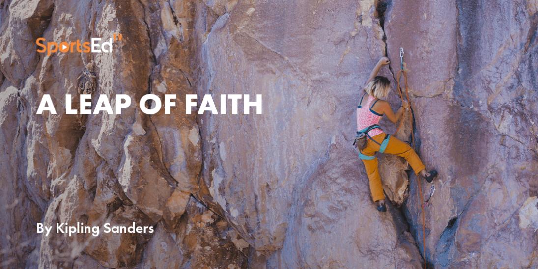 """Overcoming Fear - """"A Leap of Faith"""""""