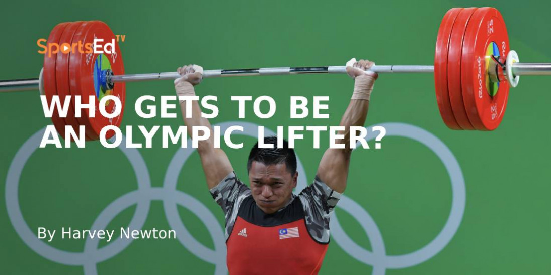 """So, You Think You're an """"Olympic"""" Weightlifter?"""