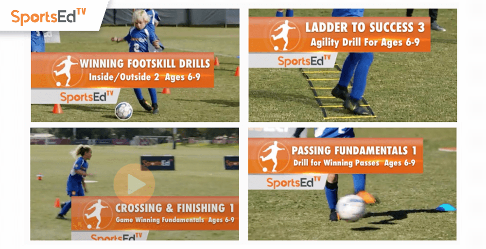 SportsEdTV Launches Free Soccer Instruction Content Library