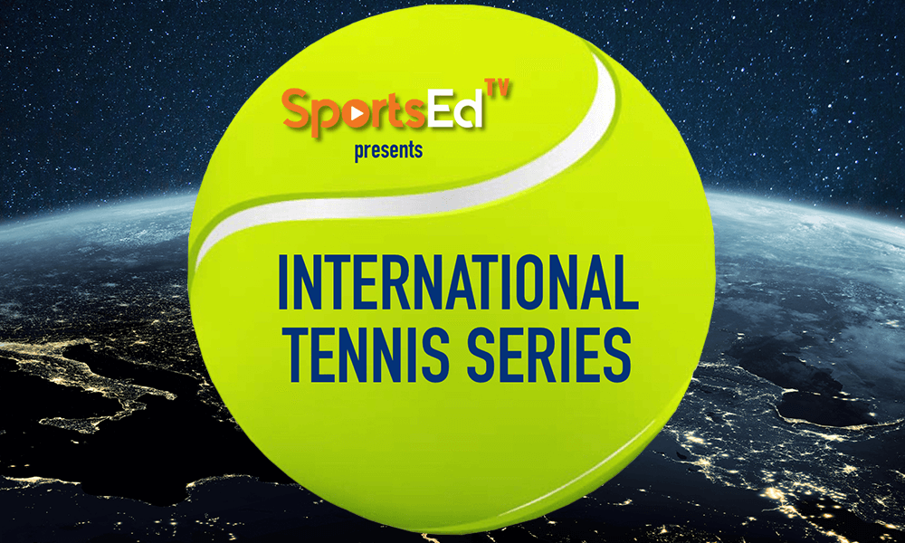 SportsEdTV Sponsors Live International Tennis Series