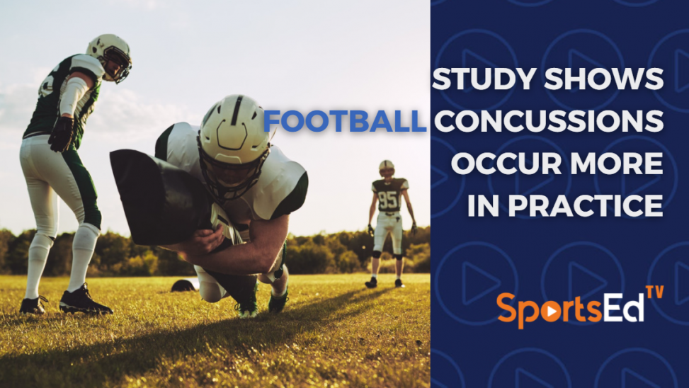 Study Shows Football Concussions Occur More Often In Practice