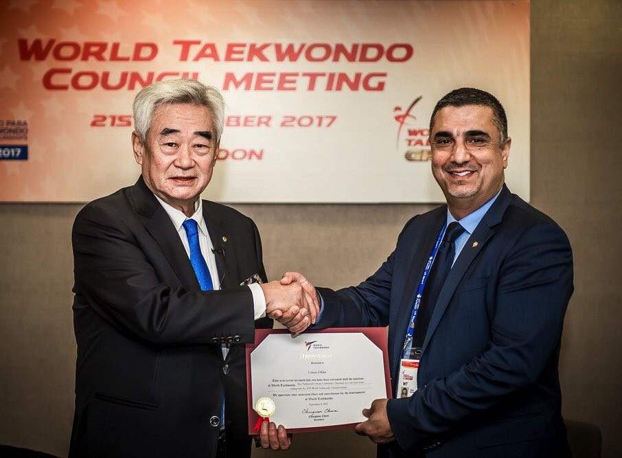 TAEKWONDO TOOK USMAN DILDAR FROM REFUGEE CAMPS TO THE OLYMPIC GAMES