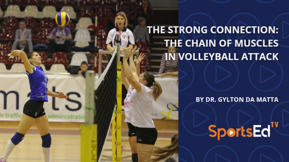 The Strong Connection: The Chain of Muscles in Volleyball Attack