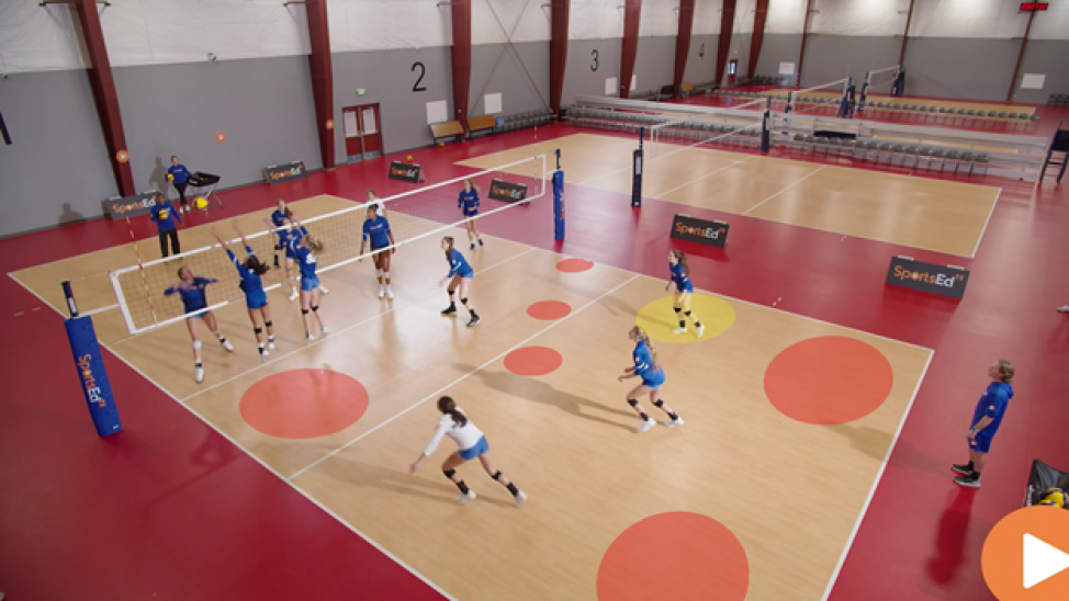 Volleyball Overhand Attack: No unforced errors!