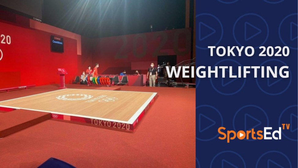 Weightlifting at The Tokyo 2020 Olympics
