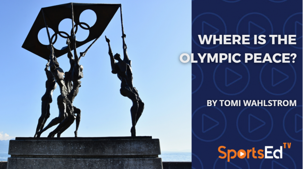 Where Is the Olympic Peace?