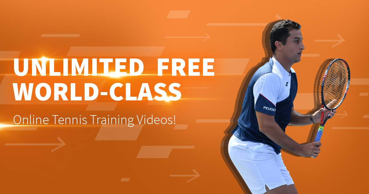 Improve your technique with tennis video instruction online.
