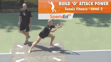 "Tennis Fitness Level 2 / Build ""O"" Attack Power 2"