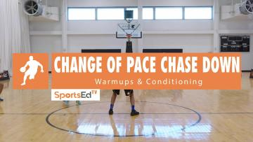The Change of Pace Chase Down Drill