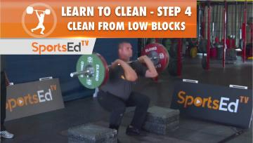 Learn To Clean - Step 4 - Clean From Low Blocks