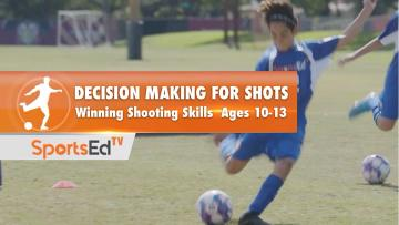 DECISION MAKING FOR SHOTS - Winning Shooting Skills 3 •Ages 10-13