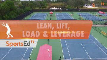 Lean, Lift, Load & Leverage For Great Groundstrokes