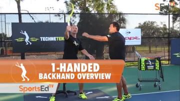 1-Handed Backhand Overview