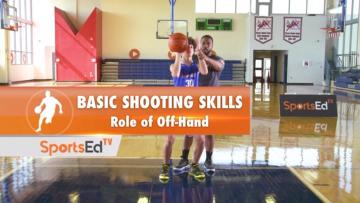 Basic Shooting Skills - Role Of The Off-Hand (Male)