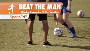 BEAT THE MAN - Winning Dribbling Skills • Semi-Pro