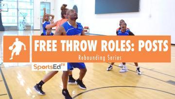 Free Throw Rebounding Roles: Posts