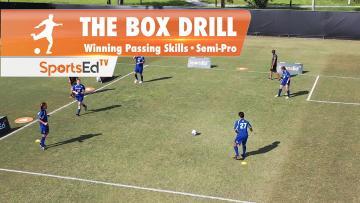 THE BOX DRILL - Winning Passing Skills • Semi-Pro