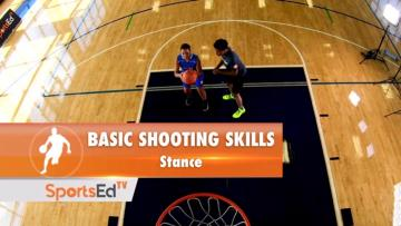 Basic Shooting Skills Stance (Female)