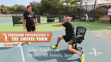 Forehand Progression 4 - The Swivel Turn