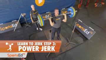 Learn to Jerk - Step 3 - Power Jerk