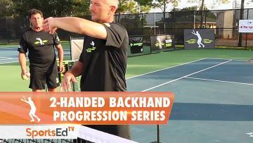 2-handed Backhand Progression Series