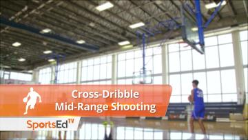 Mid-Range Shooting Off Cross-Dribble - Female
