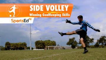 SIDE VOLLEY - Winning Goalkeeping Skills • Ages 14+