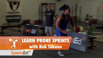 Learn Prone Sprints With Bob Takano