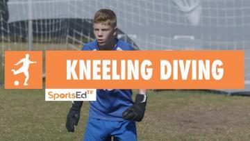 KNEELING DIVING - Winning Goalkeeping Skills 1