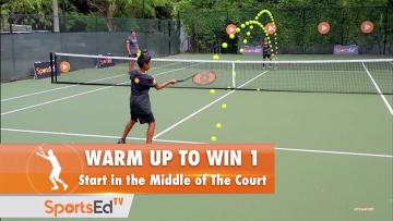 Warm Up to Win 1 - Start in Middle of The Court
