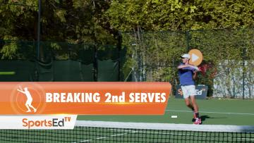 BREAKING 2ND SERVES