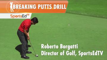 Putting Drills: Breaking Putts Drill