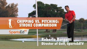 Chipping vs. Pitching: Stroke Comparison
