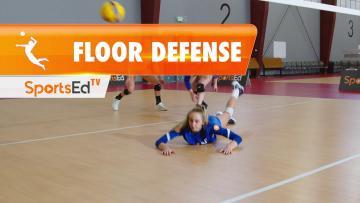 FLOOR DEFENSE IN VOLLEYBALL