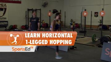 Learn Horizontal 1-Legged Hopping