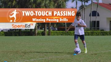 TWO-TOUCH PASSING - Winning Passing Drills • Ages 10+