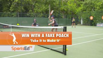 Doubles Tip- Fake It to Make It