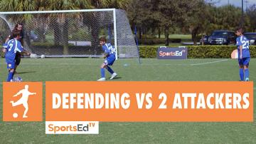 DEFENDING VS 2 ATTACKERS • Ages 10+