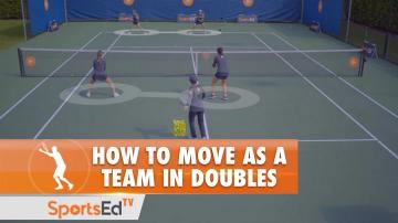 How To Move As A Team In Doubles
