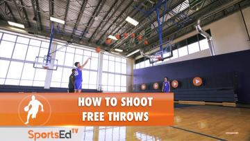 How to Shoot Free Throws  (Male)