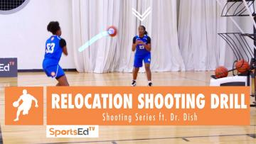 Relocation Shooting Drill - Shooting Series ft. Dr. Dish