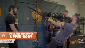 Primary Training For Esports: Improve Upper Body and Core Strength