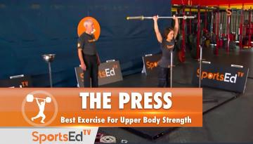The Press (W) : Best Exercise For Upper Body Strength